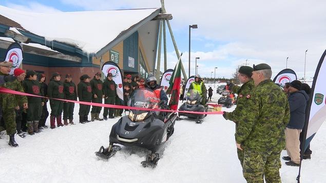 Le 2e Groupe de patrouille des Rangers canadiens termine son périple à Mingan.