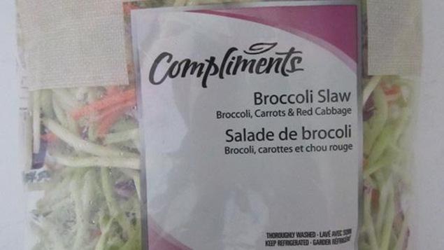 Rappel d 39 une salade de brocoli pouvant contenir la bact rie listeria ici radio - Pourquoi on ne coupe pas la salade ...