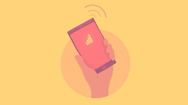 Illustration de téléphone cellulaire