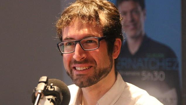 Le professeur au Département d'informatique et de génie logiciel de l'Université Laval, Richard Khoury s'intéresse aux mégadonnées.