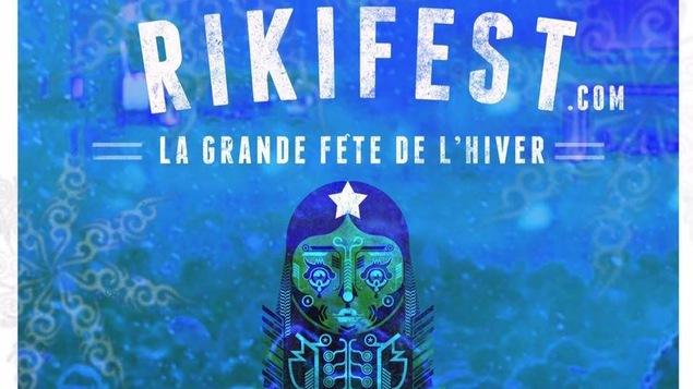 Affiche de la cinquième édition du festival RikiFest à Rimouski