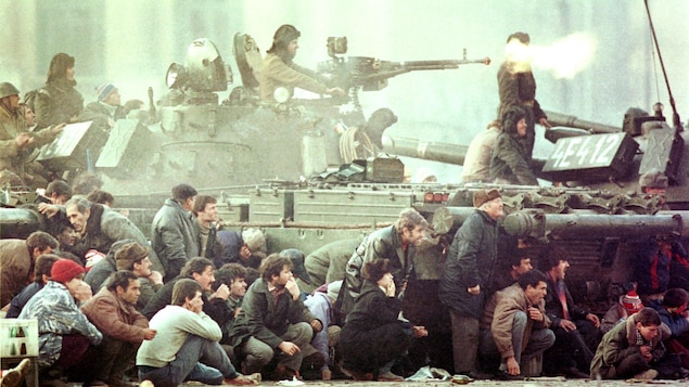 Rudes combats dans la capitale, le 23 décembre 1989