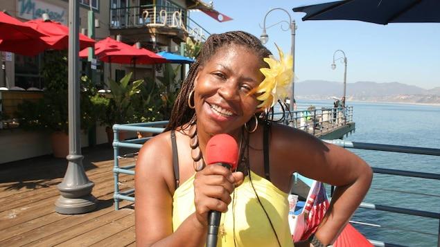 La chanteuse jazz Rouyn Noranda Carter