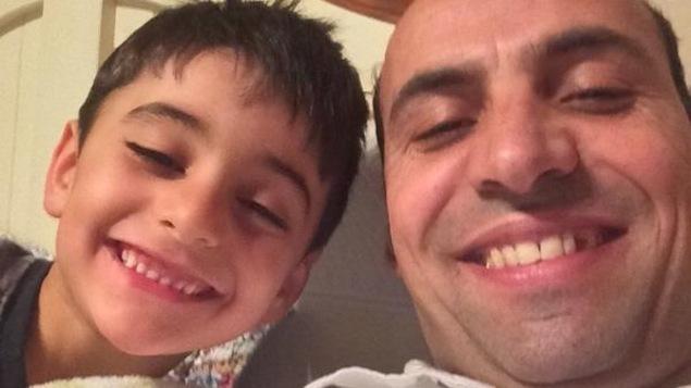 Saïd Akjour et son fils Zaky