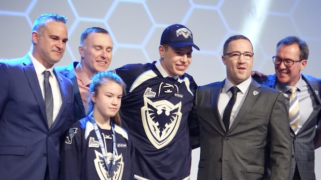 Samuel Poulin fait partie de l'équipe du Phoenix de Sherbrooke