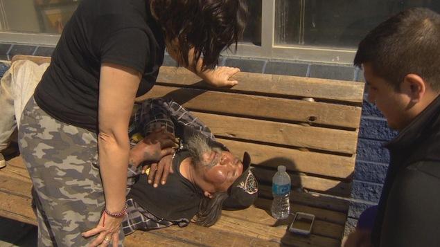 Un sans-abri victime d'un coup de chaleur
