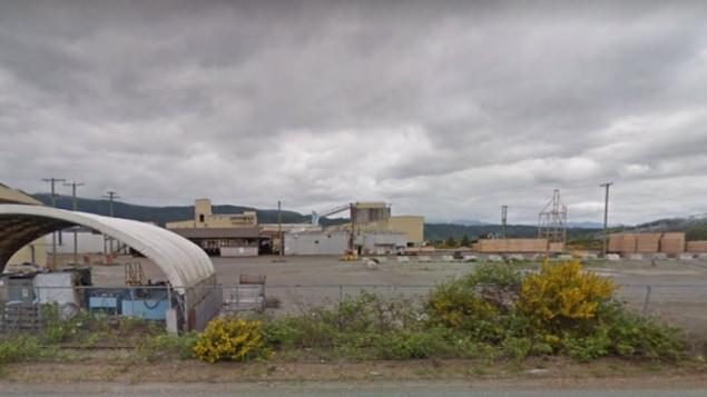 La scierie Somass de Western Forest Products inc. à Port Alberni en Colombie-Britannique.