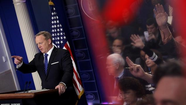 Démission du porte-parole de la maison blanche Sean Spicer