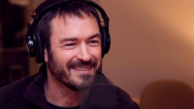 L'artiste Sébastien Ricard