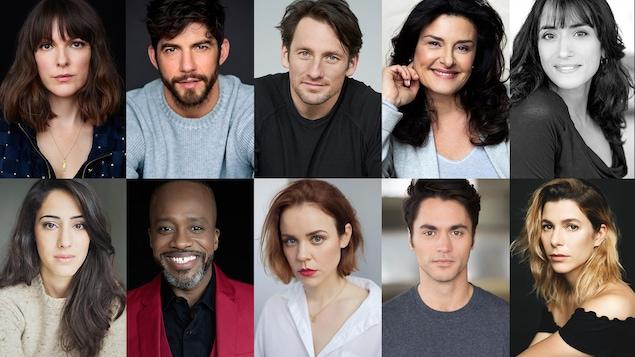 Photo réunissant les portraits de 10 acteurs et actrices.