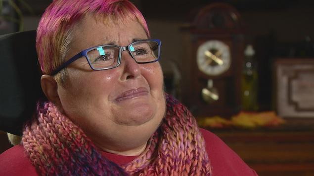 Sharon Krar est en fauteuil roulant depuis six ans.