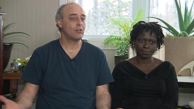 André Simard et Georgette Gandoul