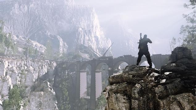 Un aperçu des graphiques réalistes du jeu Sniper Elite 4, dont l'action se déroule en Italie.
