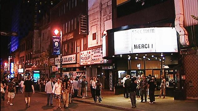 Le Spectrum de Montréal, peu avant avant sa fermeture en 2007