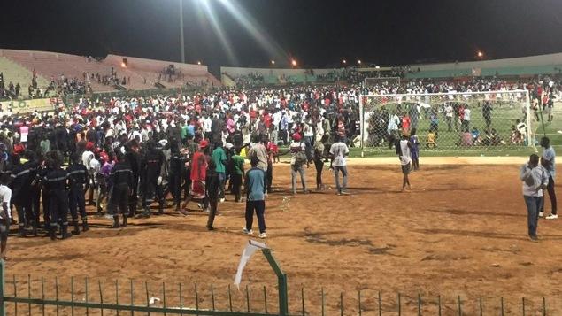 Le drame est survenu au stade Demba-Diop de Dakar.