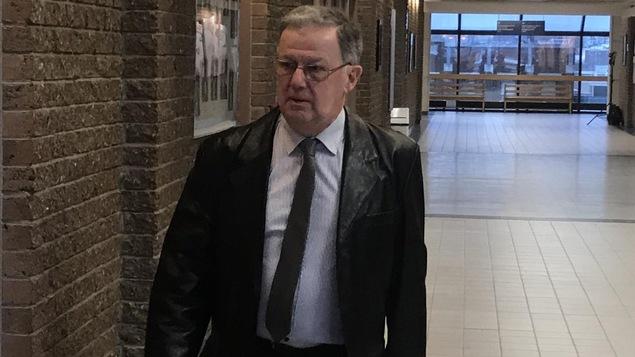 Stephen Callaghan, témoin expert au procès de Thomas Harding, Jean Demaître et Richard Labrie.