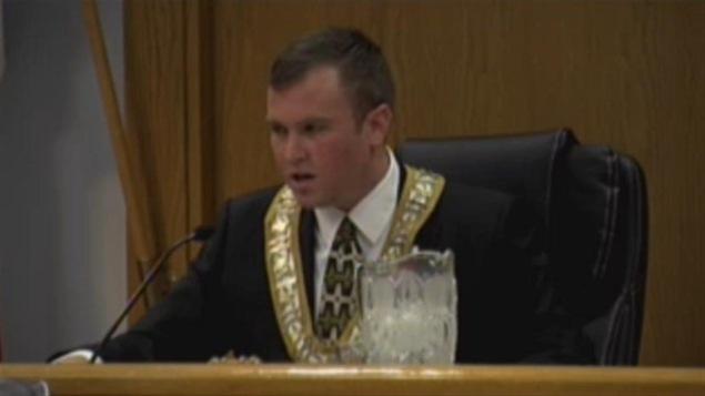 Le maire de Timmins Steve Black