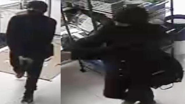Les suspects étaient armés de deux armes à feu et d'un bâton de baseball.