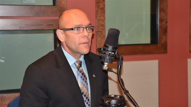 Sylvain Vachon, président régional de l'UPA en Abitibi-Témiscamingue