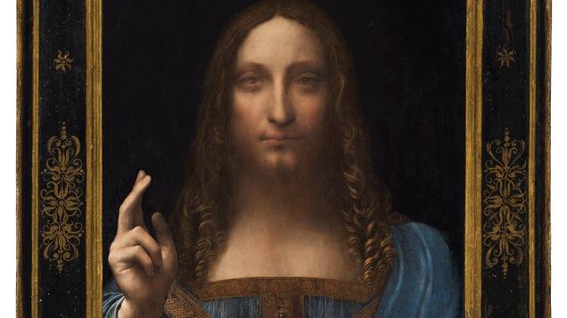 Le tableau « Salvator Mundi », un portrait de Jésus de Léonard de Vinci