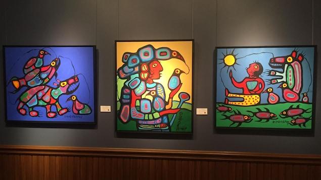 3 tableaux du peintre