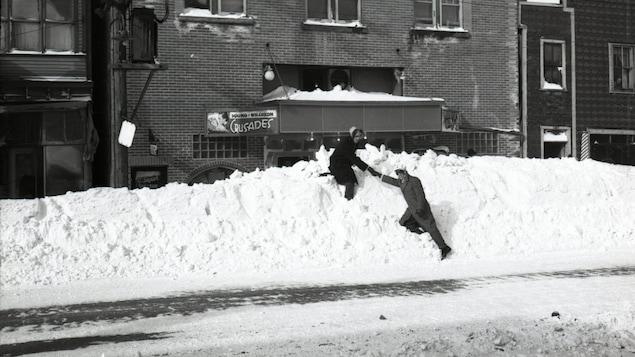 Solidarité lors de la grande tempête de 1947 en Abitibi-Témiscamingue