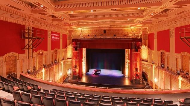 La salle principale du Théâtre Outremont, à Montréal