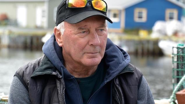 Portrait de Tom Best, président de la coopérative des pêcheurs de Petty Harbour