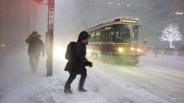 Une tempête se dirige vers le Québec