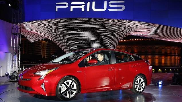 La Prius est le modèle hybride le plus vendu au Canada.