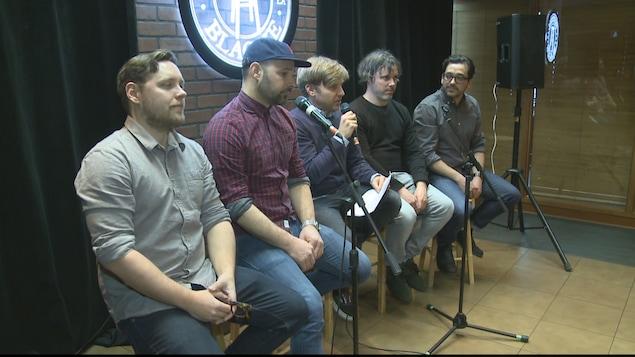 Le groupe de Drummondville, Les Trois Accords, présente le Festival de la blague