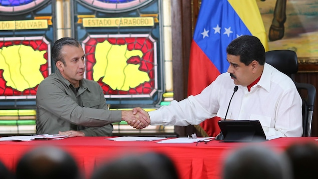 Etats-Unis: sanctions à l'encontre du vice-président vénézuelien
