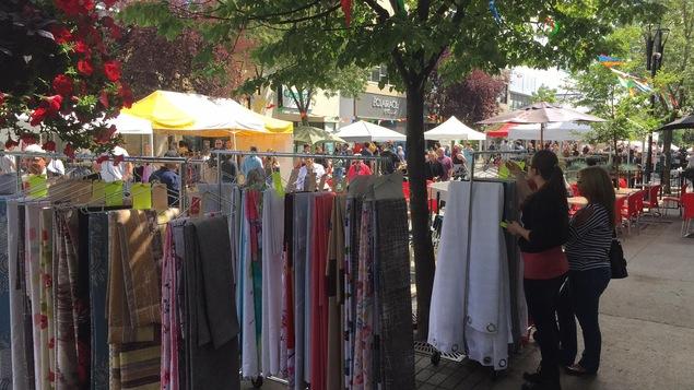 La vente trottoir de Rouyn-Noranda est en cours du 26 au 29 juillet.
