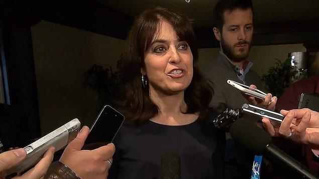 La députée de Joliette, Véronique Hivon.