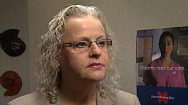 Vicki McKenna, première vice-présidente Association des infirmiers et infirmières de l'Ontario