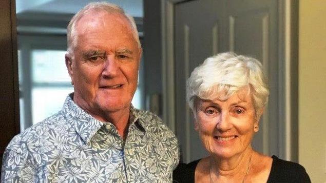 Ian Moore Wilson, un Canadien tué dans l'attentat de Barcelone, et sa conjointe Valerie.