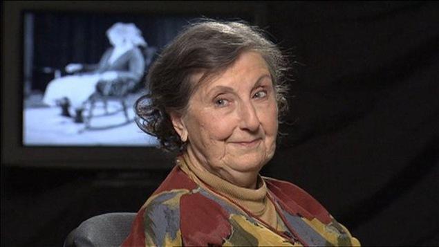 La comédienne Viola Léger