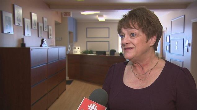 La mairesse de Port-Cartier et préfet suppléante de la MRC de Sept-Rivières, Violaine Doyle, a présidé la rencontre d'avril 2017 en l'absence du préfet Réjean Porlier.