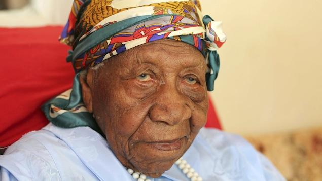 La doyenne de l'humanité, Violet Brown, est âgée de 117 ans.