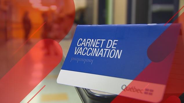 Un carnet de vaccination.