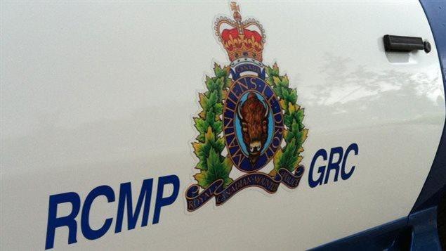 Une voiture de la Gendarmerie royale du Canada.