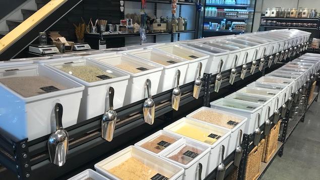 Une épicerie zéro déchet à Québec