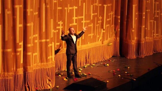 Une image tirée de la vidéo publiée par le Metropolitan Opera