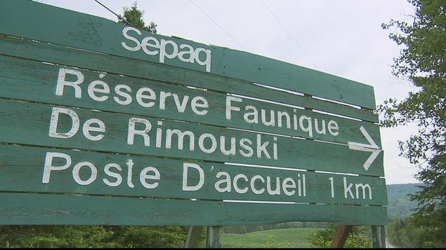 Réserve faunique de Rimouski et de la ZEC Bas-Saint-Laurent.