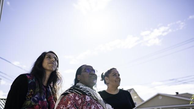 Éléna Catalina, Jeanne-Marie Rugira et Nellie Bernier, trois femmes au regard porté vers l'avenir