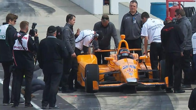 Fernando Alonso à Indianapolis