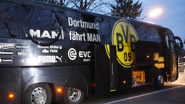 L'autobus du Borussia Dortmund