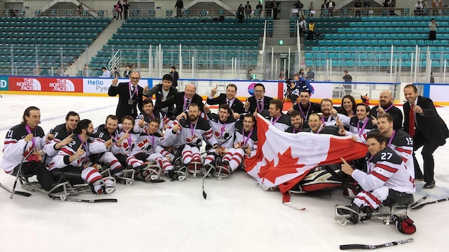 Le Canada s'est couvert d'or à Gagneug