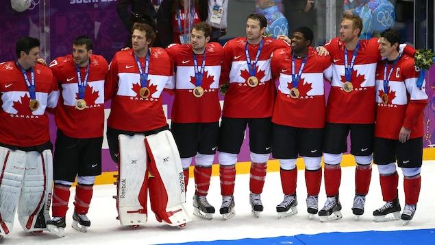 Le Canada médaillé d'or à Sotchi