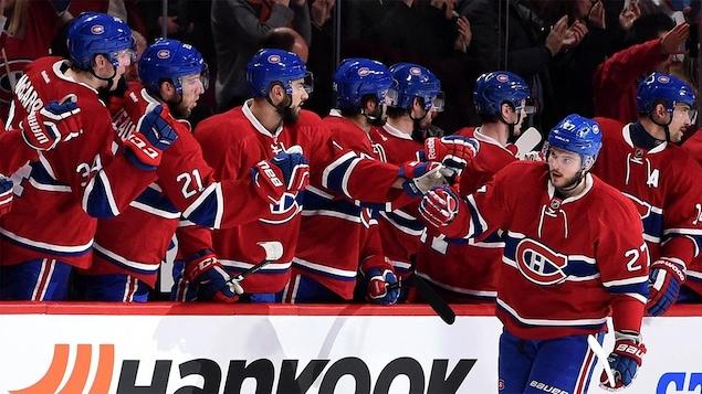 Les joueurs du Canadien de Montréal